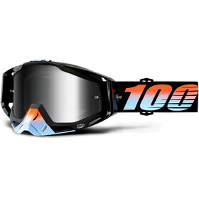 100% Racecraft Anti Fog Mirror Goggles svart